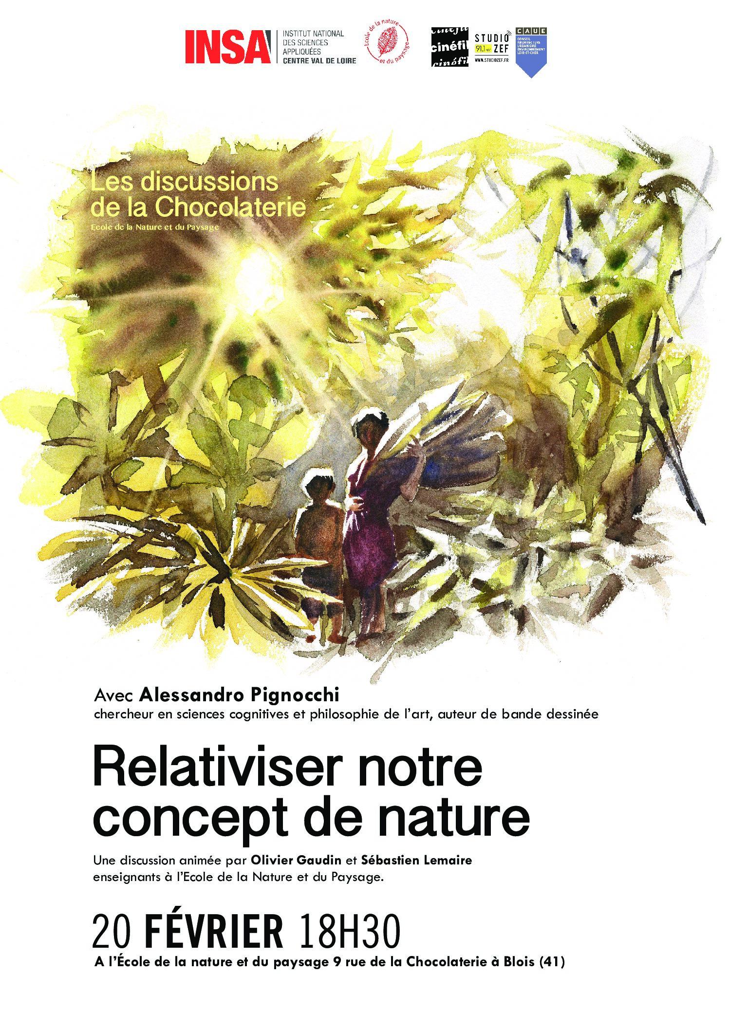 La discussion de février : Relativiser notre concept de nature
